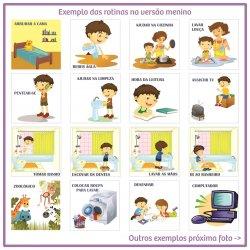 Imagem - Kit Imã - Rotinas Diárias - v1209