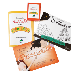 Imagem - Kit Livros Ensinando sobre a Gratidão cód: 2370