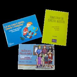 Imagem - Kit Livros Infantis sobre Autismo | Ganhe Adesivos TEA cód: 2368