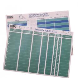 Imagem - Kit TDAH - Automonitoramento e Diário de Bordo do TDAH | 2 Blocos cód: 2407