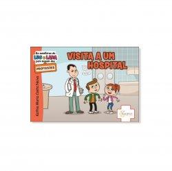 Imagem - Livro Infantil: As Aventuras de Luc e Lara pelo Mundo das Profissões: Visita a um hospital cód: 502