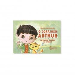 Imagem - Livro Infantil: O corajoso Arthur: superando traumas na infância cód: 2346