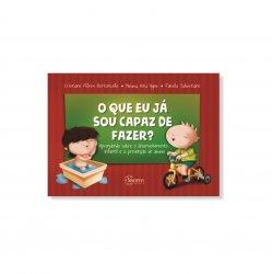 Imagem - Livro Infantil: O que eu já sou capaz de fazer? Aprendendo sobre desenvolvimento infantil e prevenção de abuso cód: 525