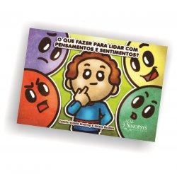 Imagem - Livro Infantil: O que fazer para lidar com pensamentos e sentimentos cód: 2324
