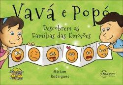 Imagem - Livro Infantil: Vavá e Popó descobrem as famílias das Emoções cód: 485