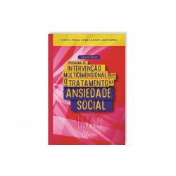 Imagem - Livro: Programa de Intervenção Multidimensional para o Tratamento da Ansiedade Social (IMAS): Livro do Paciente cód: 2487