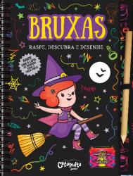 Imagem - Livro: Raspe, descubra e desenhe - Bruxas cód: 1903