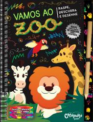 Imagem - Livro: Raspe, descubra e desenhe - Vamos ao Zoo cód: 1905
