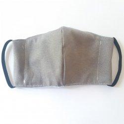 Imagem - Máscaras Tecido Duplo - Com filtro - Adulto - Cinza cód: 968