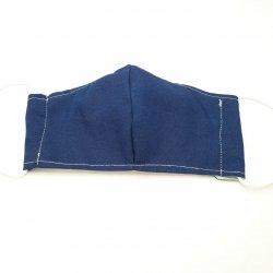 Imagem - Máscaras Tecido Duplo - Com filtro - Infantil - 7 a 12 anos - Jeans cód: 1050