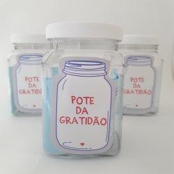 Imagem - Mini Pote da Gratidão - Kit com 3 cód: 856