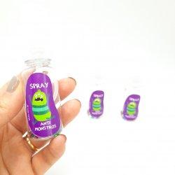 Imagem - Mini Spray Anti Monstros - Kit com 3 cód: 862