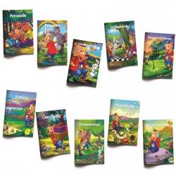 Imagem - O que cabe no meu mundo: Coleção Valores - 10 livros infantis cód: 2357