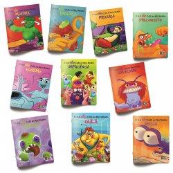 Imagem - O que não cabe no meu mundo: Coleção Valores - 10 livros infantis cód: 2358