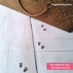 Pegadas de Coelho Adesivas Pequenas