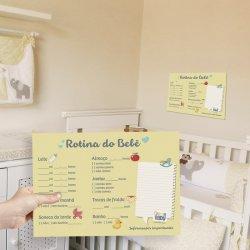 Planner da Rotina do Bebê