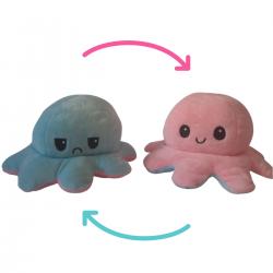 Imagem - Polvo do Humor Reversível  | Rosa e Azul cód: 2484