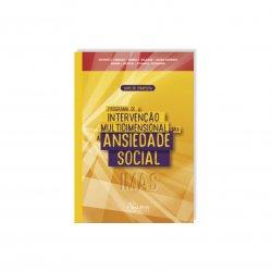 Imagem - Livro: Programa de Intervenção Multidimensional Para a Ansiedade Social (IMAS): Livro do Terapeuta cód: 2488
