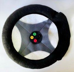 Imagem - Recurso Terapêutico em feltro: Kit caminho (ponto, estrada, roda e sinaleira) cód: 1773
