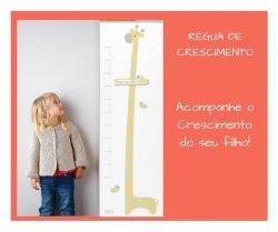 Imagem - Régua de Crescimento - Girafa cód: 435