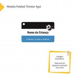 Tag para Mochila Escolar - Futebol