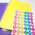 Adesivos Letrinhas | Alfabetização e Identificação de pertences 3