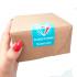 Adesivos para Embalagem - Abra aqui. Tem surpresa te esperando.