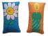 Almofadas para exercício de Respiração - A Vela e a Flor