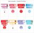 Etiquetas Escolares | Princesas | Mix de Formatos