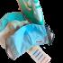 Etiquetas para máscaras de tecido termocolantes (iron-on) - Ed. Especial - Cartela com 5