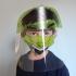 KIT HULK (Face Shield Infantil + Máscara de tecido) - 3 a 7 anos