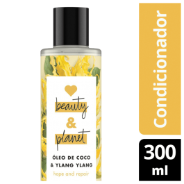 Imagem - Condicionador Hope and Repair - Óleo de Coco & Ylang Ylang Love Beauty And Planet cód: 355