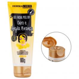 Imagem - Gel Facial Peel Off Ouro e Argila Branca Dermachem cód: 5932