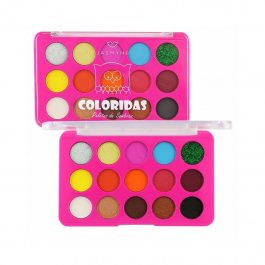 Imagem - Paleta De Sombras Coloridas B - Jasmyne cód: 6051