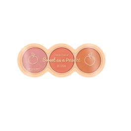 Imagem - Trio de Blushes Sweet as a Peach - SP Colors cód: 5977