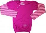 Blusa de Moletom para Menina -Brilho de borboletas -Ref. 6990