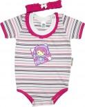 Body Manga Curta- Bebê Carinho REF 5037