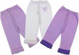 Kit de calças 3 pçs - Bebê Algodão REF. 5808