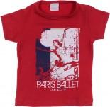 Camiseta Infantil para Menina - Paris REF. 6757
