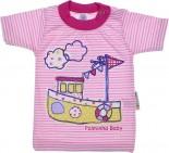 Camiseta de Bebê Barquinho - REF. 6479
