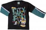 Camiseta Infantil Manga Longa - City REF. 6118