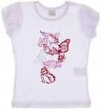 Camiseta Infantil - Manga Curta - Borboleta REF.  6766