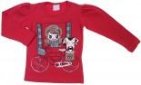 Camiseta Manga Longa - Menina - Janela REF. 6898