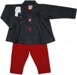 Conjunto Jeans e Calça Atoalhada - Bebê Despojada REF. 5312