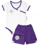 Conjunto Body e Shorts Bebê Doçura