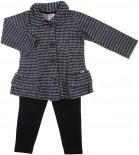 Calça Legging e Casaco Infantil - Charme REF. 5966