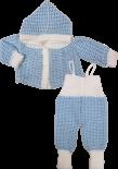 Conjunto de Lã Bebê Croche REF. 5578