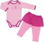 Conjunto Body e Calça Saia - Bebê Sapequinha REF 6308