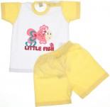 Conjunto Shorts e Camiseta - Bebê Peixinha REF. 5936