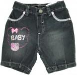 Bermuda Jeans - Bebê Girl REF. 5585